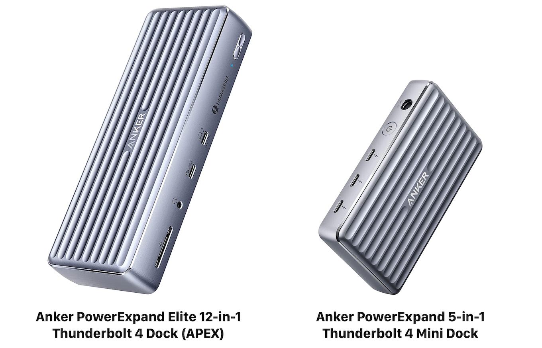 Anker PowerExpand Elite 12-in-1 Thunderbolt 4 Dock (APEX)