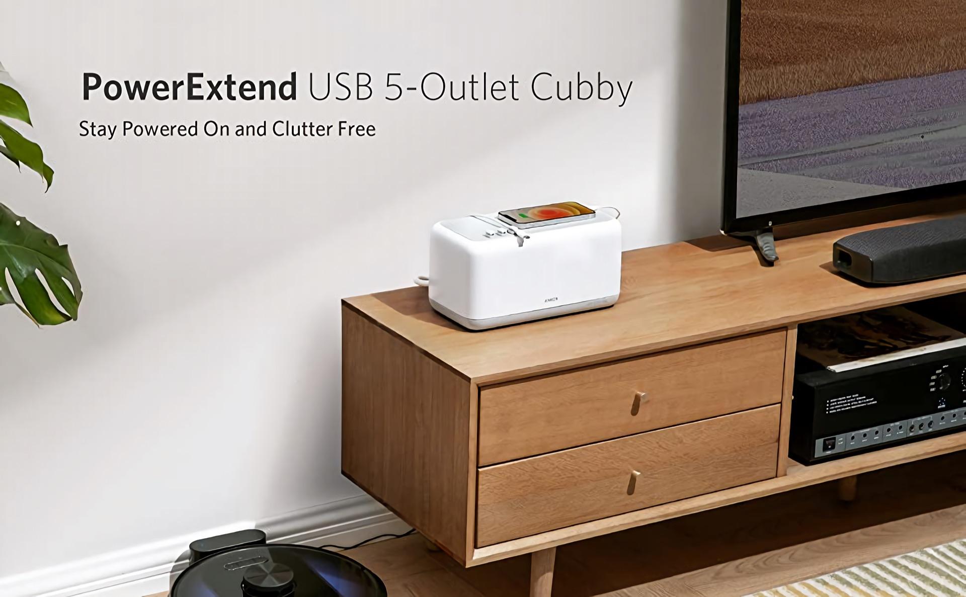 Anker PowerExtend USB 5-Outlet Cubby