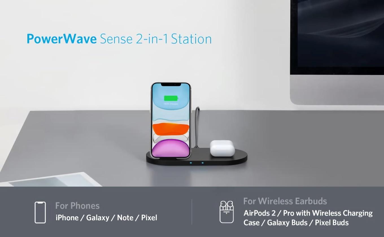 Anker PowerWave Sense 2-in-1 Station