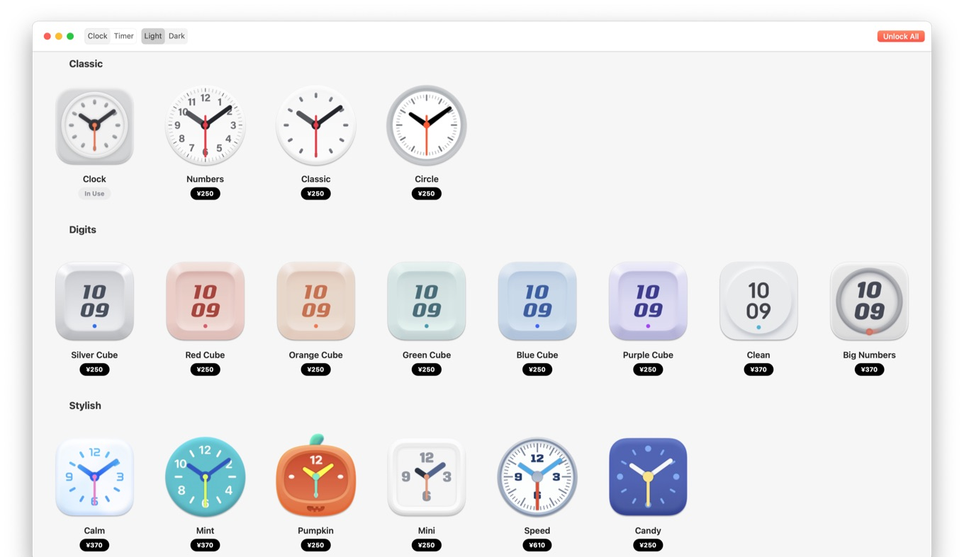 Clock mini v3.0