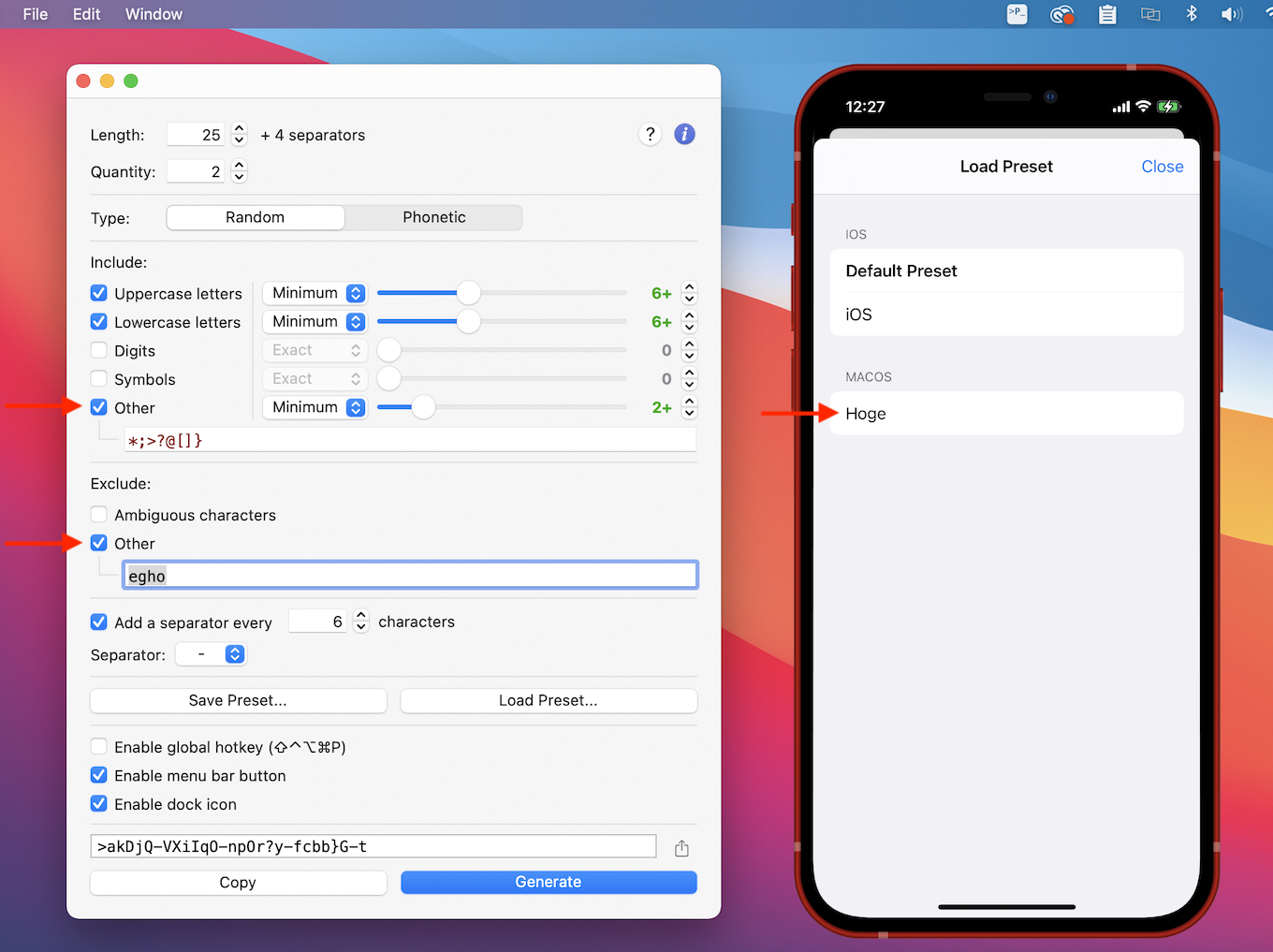 PSWD 2.0 for macOS and iOS