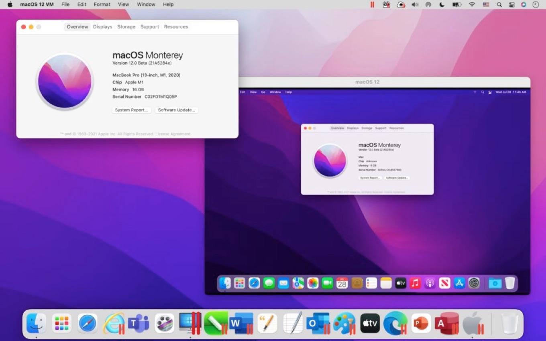 Parallels Desktop 17 for Mac support macOS 12 Monterey