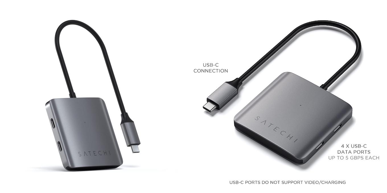 Satechi 4-Port USB-C Hub