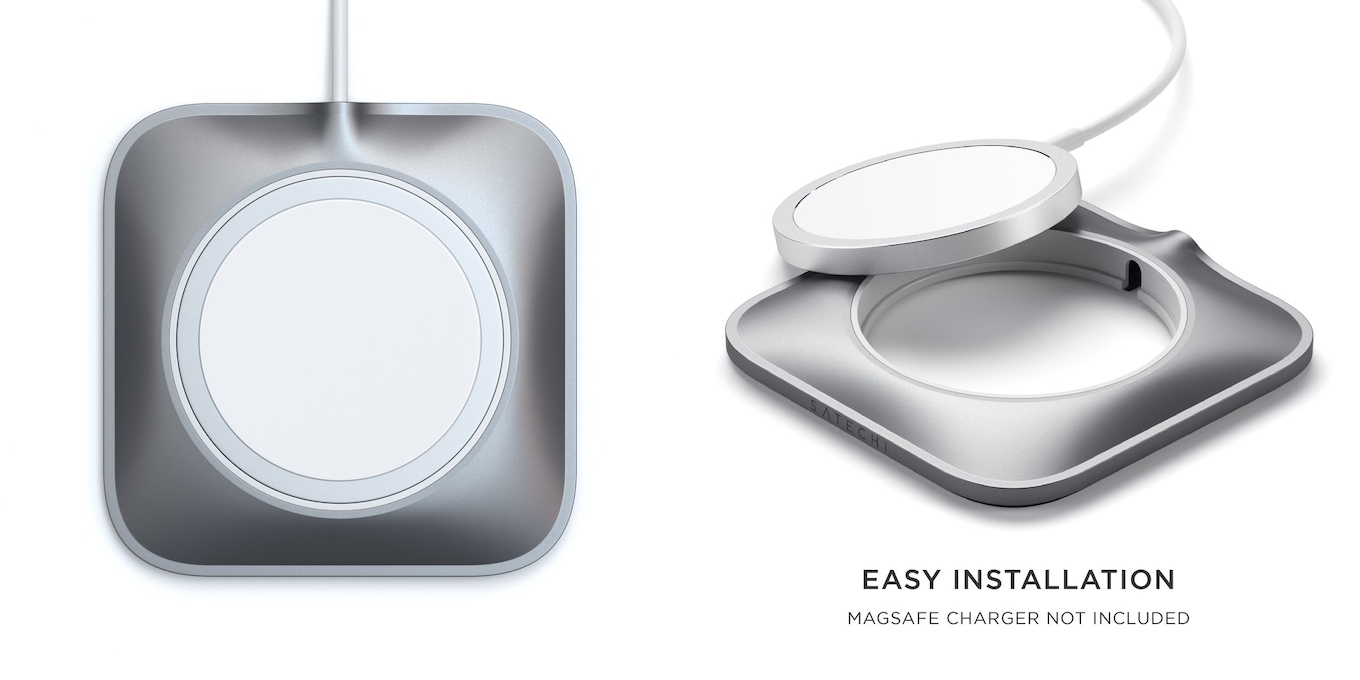 Satechi Aluminum Dock for MagSafe Charger