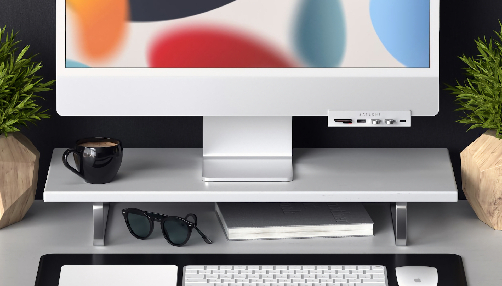 Satechi USB-C Clamp Hub for 24-inch iMac