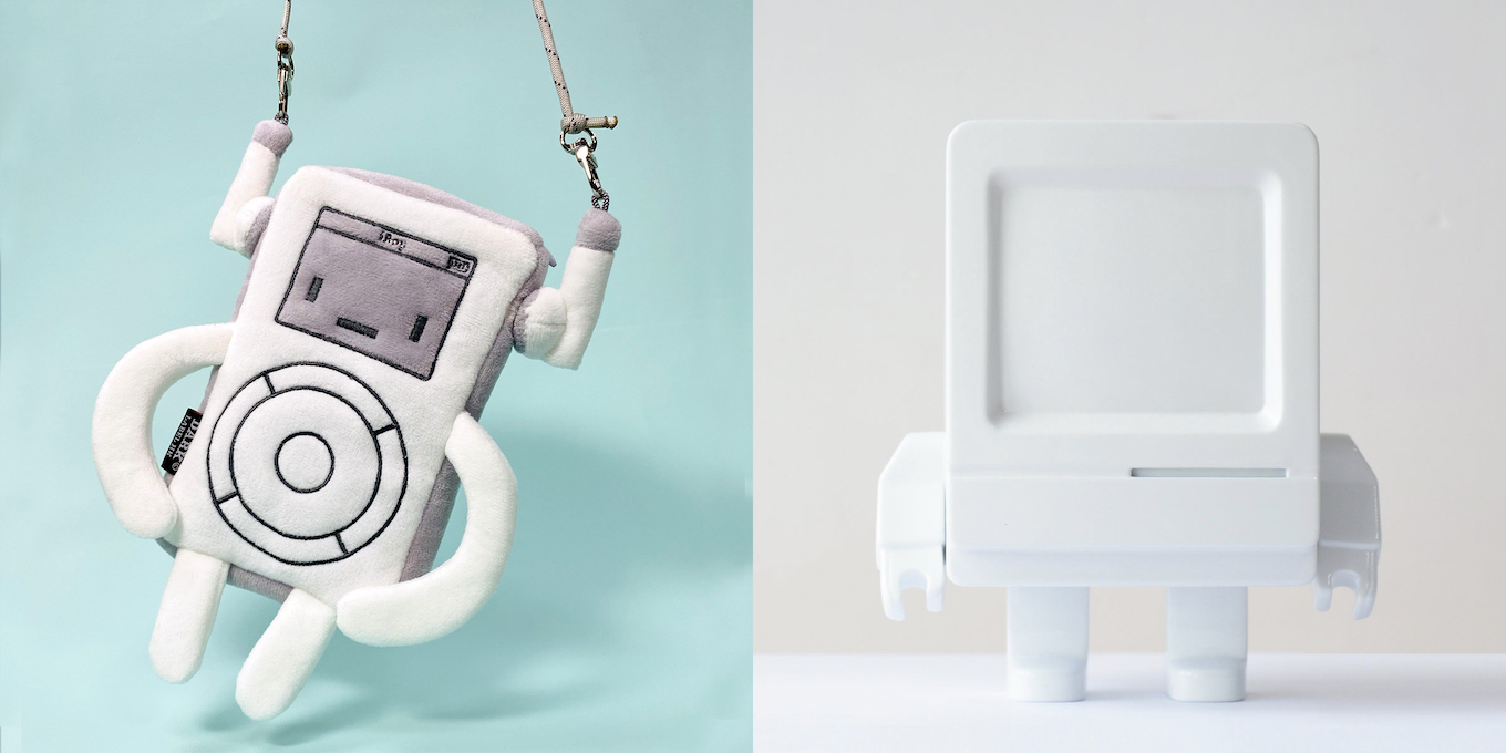 iBoy Phone Pouch and Classicbot Pure White
