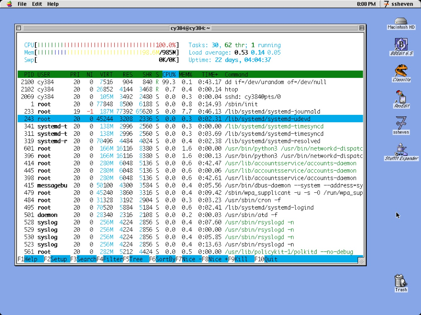ssheven for system 7-9 ssh client
