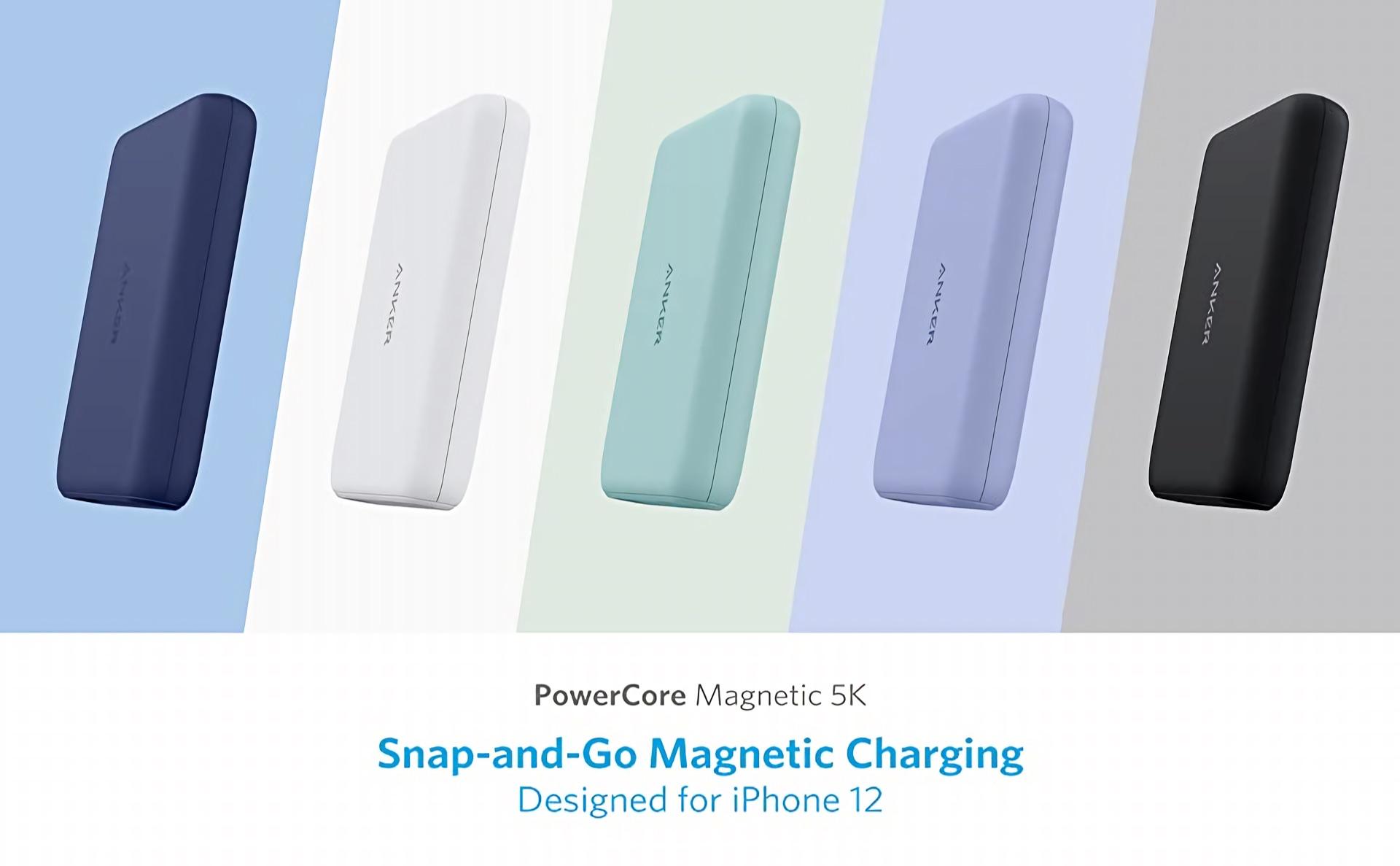 Anker PowerCore Magnetic 5K