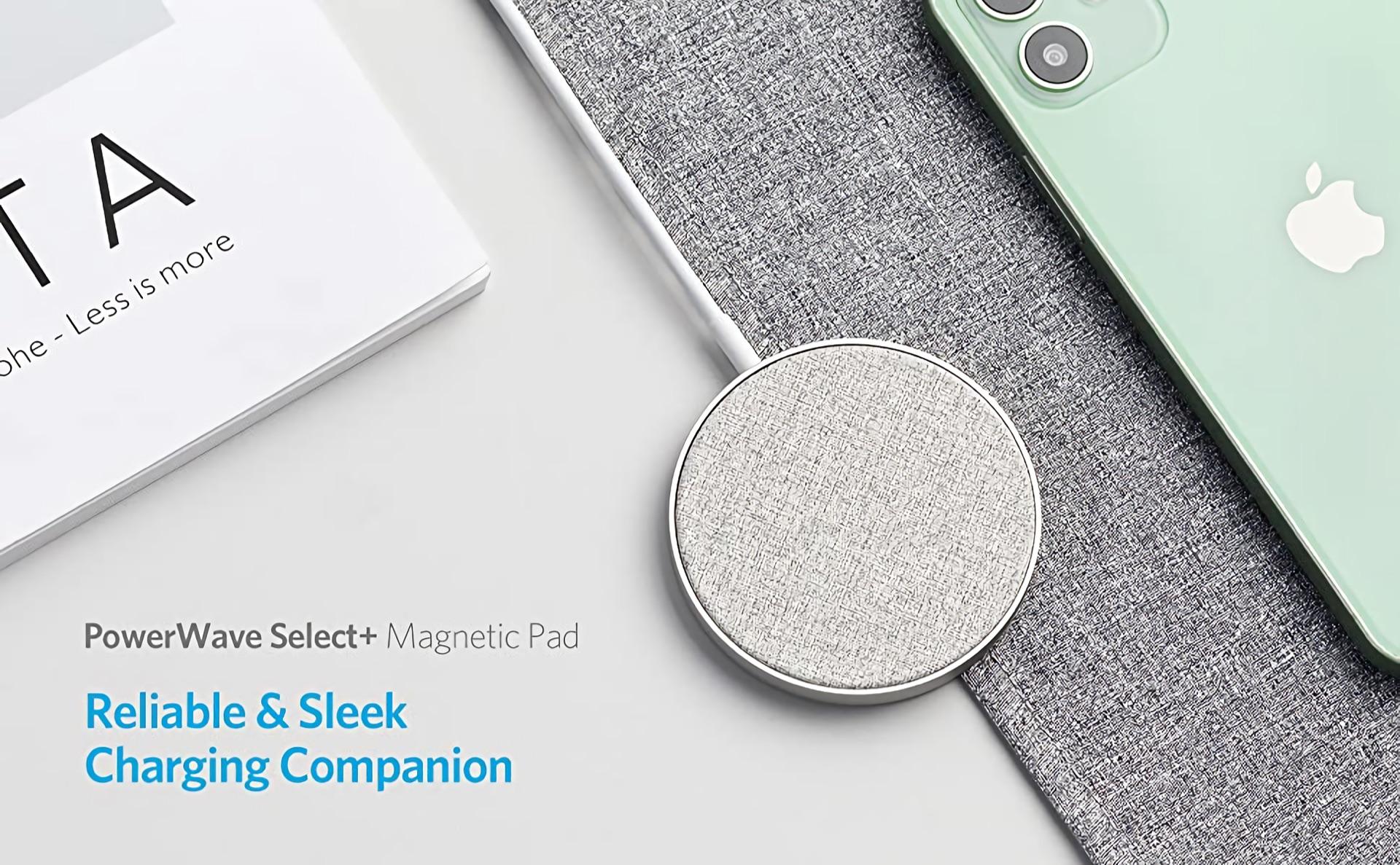 Anker PowerWave Select plus Magnetic Pad