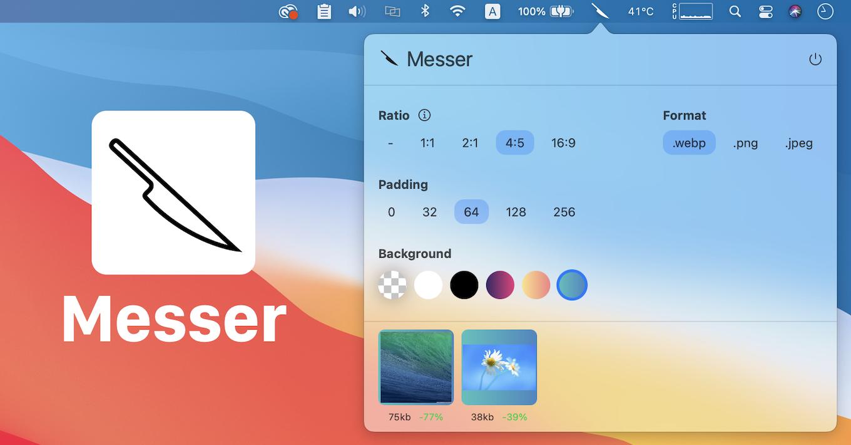 Image converter Messer for Mac