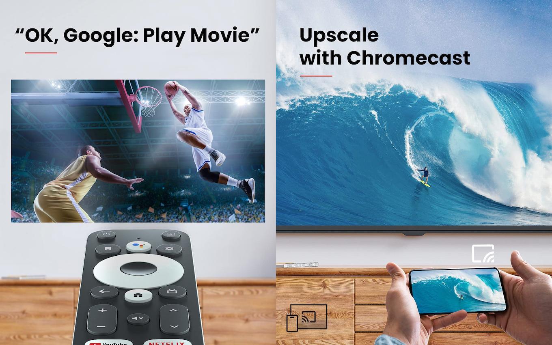 ChromecastとOK Google