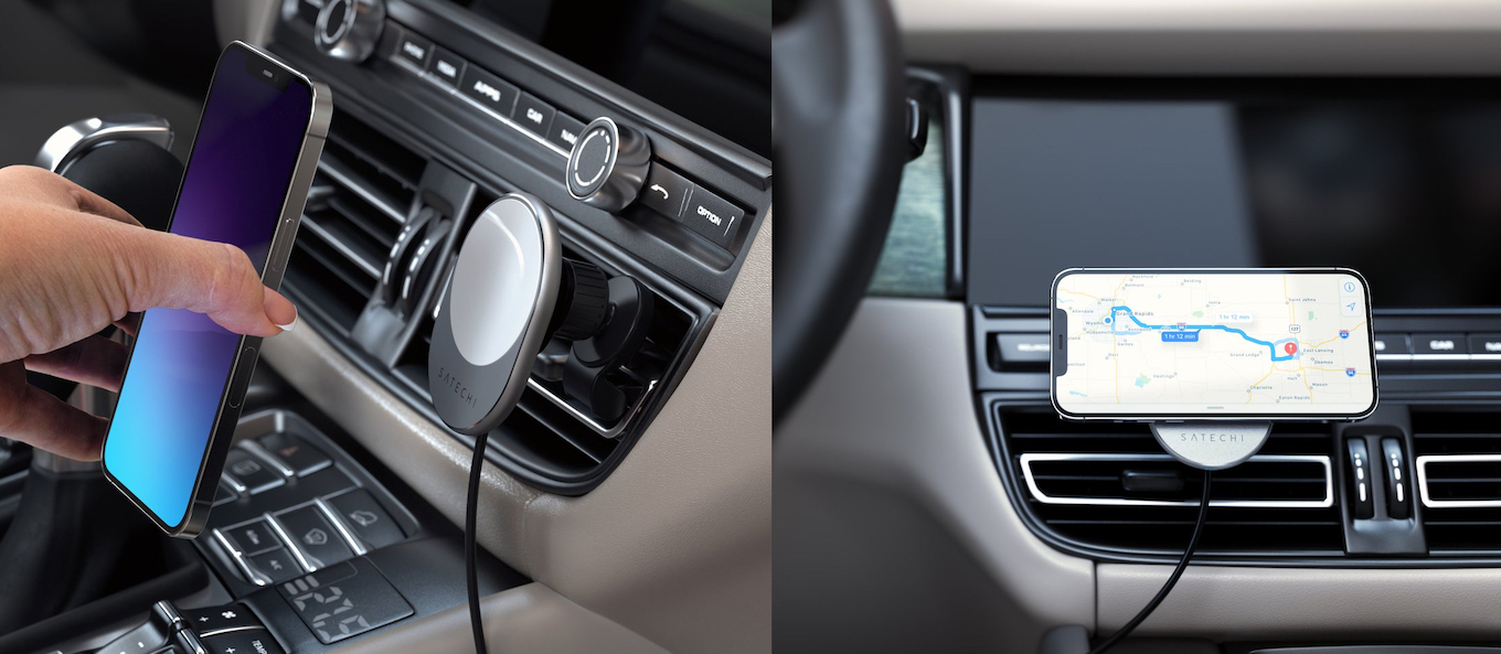 Satechi Magnetic Wireless Car Charger