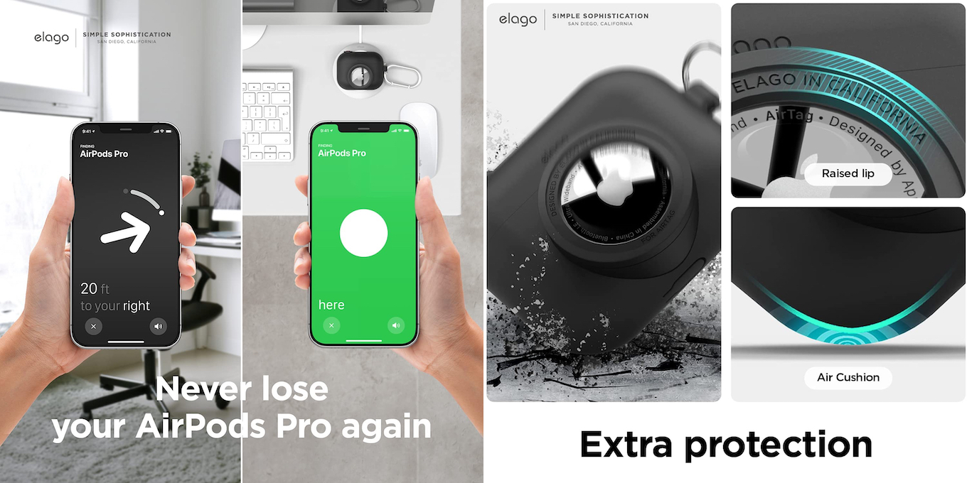 Snapshot Case for AirPods Pro & AirTag