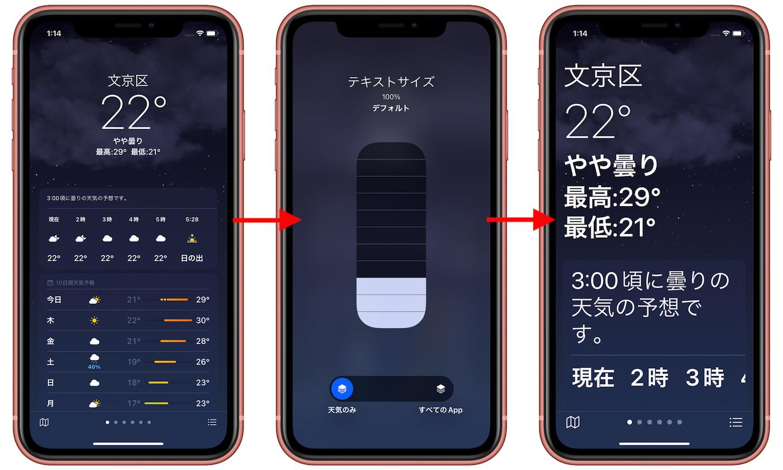 iOS15のアクセシビリティ機能