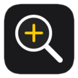 iOS15の拡大鏡アプリのアイコン