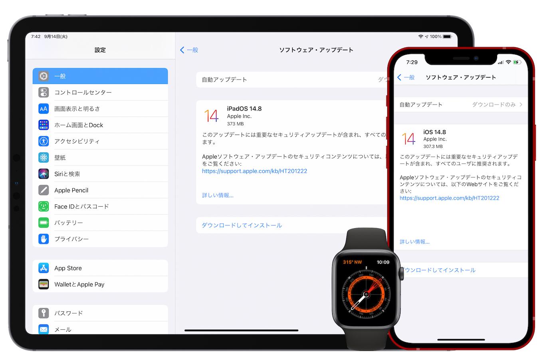 iPhone/iPadOS 14.8 (18H17)