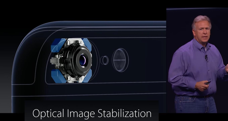 光学式手ぶれ補正(OIS)搭載のiPhone