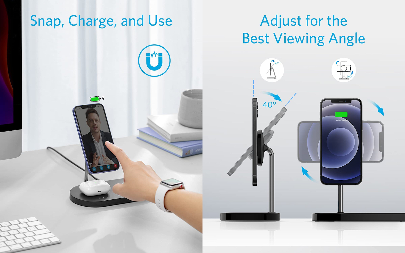 Anker PowerWave Magnetic 3-in-1 Stand