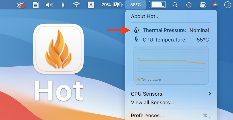 CPU monitor Hot for Mac v1.5