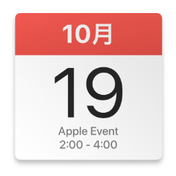 Apple Events 2021,10,19